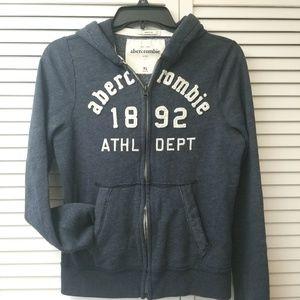 Abercrombie Kids navy hoodie size XL